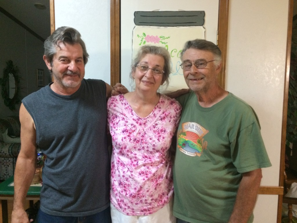 My dad, Aunt Margie and Uncle Jerry
